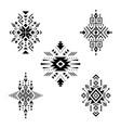 aztec elements vector image vector image