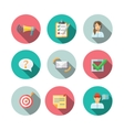 Feedback Web Icons Set vector image vector image