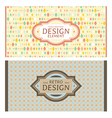 Frames in retro style vector | Price: 1 Credit (USD $1)