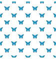 insect butterfly pattern seamless vector image vector image