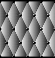 seamless pattern of black halftone diamonds vector image vector image