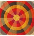 Vintage paper target vector image vector image