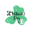 happy st patrick s day vector image