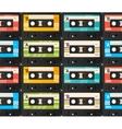 Cassette Tape Background vector image
