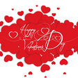 Background valentines vector image vector image