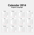 Calendar 2014 typ 13 vector | Price: 1 Credit (USD $1)