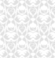 decorative seamless pattern silver vector image