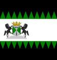 flag of emmen of netherlands vector image vector image