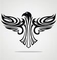 Flying Eagle Tribal vector image vector image