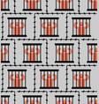 jail pattern seamless prisoner in prison vector image vector image