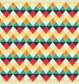 retro zigzag seamless pattern vector image vector image