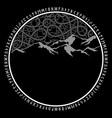 scandinavian viking design knot vector image vector image