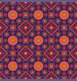 sindhi ajrak pattern vector image vector image