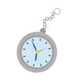 time clock cartoon vector image