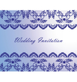 Wedding Lace Invitation Card