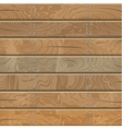 Wooden walls and floor vector image