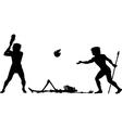 Baseball begins vector image