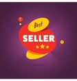 Best seller badge flat vector image