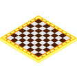 Checkerboard vector image