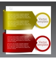 Colorful bookmarks vector image