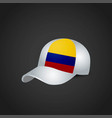 flags cap design vector image