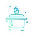 food icon design vector image vector image