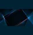 light ray stripe line with blue light speed vector image vector image