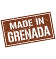 made in grenada stamp vector image vector image