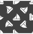 Sailing ship pattern vector image vector image
