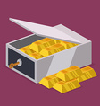 Strongbox design vector image