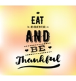 Thanksgiving day typography set