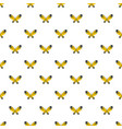 wide wing butterfly pattern seamless vector image vector image