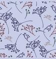 flower floral pattern vintage vector image