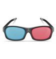 3d plastic glasses stock