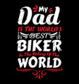 biker daddy t shirts design graphic vector image