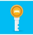 car rent concept flat icon vector image vector image