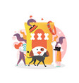 dog care supplies and accessories vector image vector image