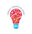great creative idea - concept vector image vector image