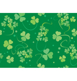 green texture with flora vector image vector image