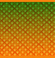 pineapple texture pattern vector image vector image