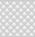 quilted white background vector image vector image