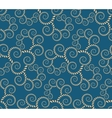 Spiral seamless lace pattern Abstract twirl vector image