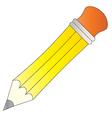 Yellow Pencil vector image