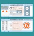 basketball18 vector image vector image