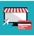 electronic commerce isolated icon design vector image