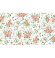 flower abstract pattern vector image vector image