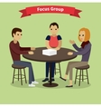 Focus Group Concept vector image