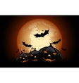 Happy Halloween Poster Holiday vector image vector image