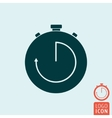 Timer icon isolated vector image vector image