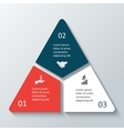 Triangle infographic
